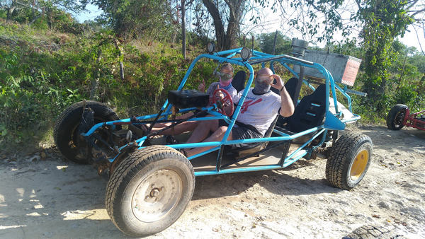 Come with us on delightful Xtreme-Buggy excursion, driving your Dune Buggy