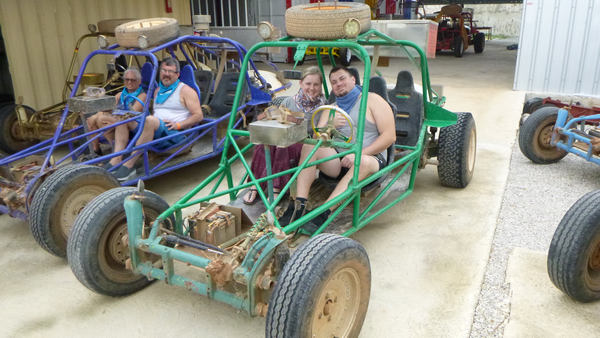 Have fun on marvelous Xtreme-Buggy trip while driving your Dune Buggy