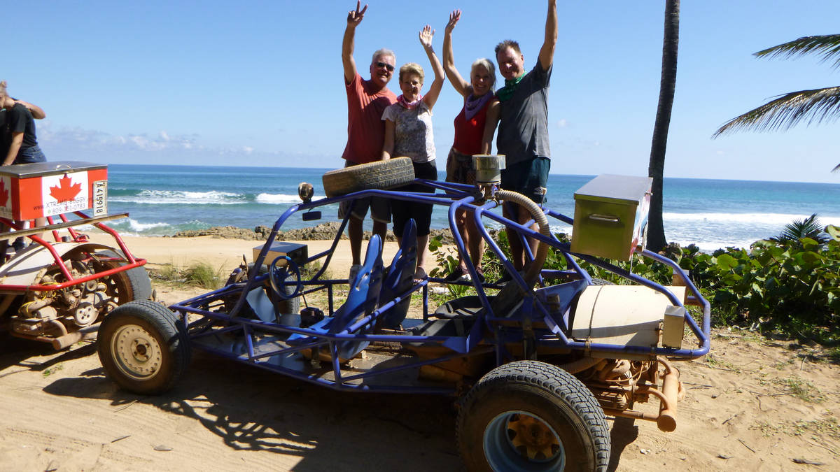 Enjoy excellent Xtreme-Buggy trip, driving your Dune Buggy