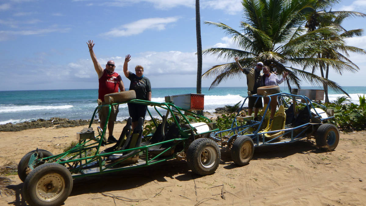 Tropical exotic panorama - Drive your Dune Buggy in Punta Cana