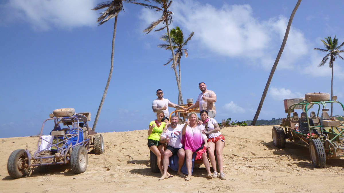 Drive your Dune Buggy - exotic tropical sights - Dominican Republic