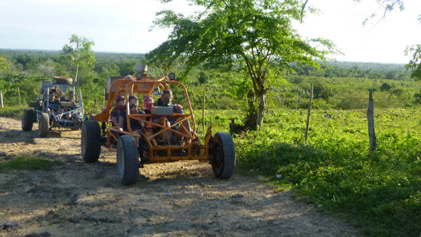 drive your Dune Buggy on rough Dominican Republic countryside roads