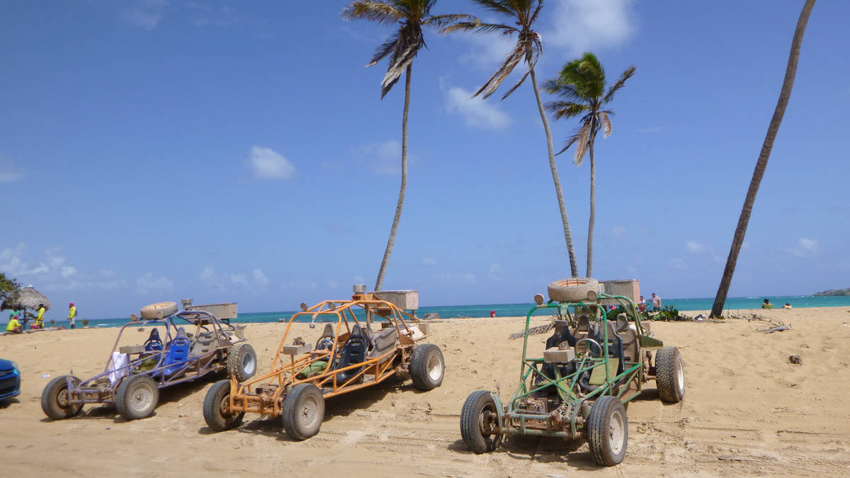 Xtreme-Buggy Tours - tropical natural scenery - Dominican Republic