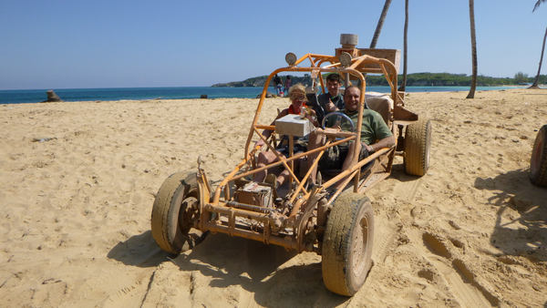 Have fun on spectacular Xtreme-Buggy trip