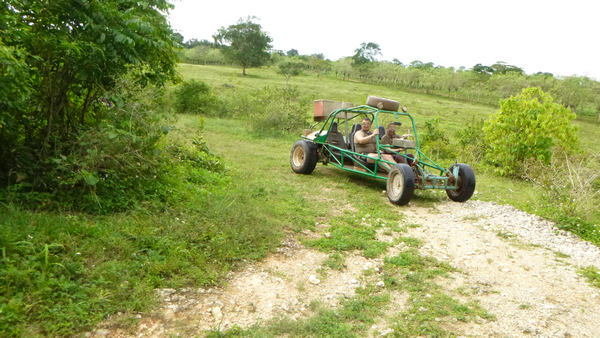 Have a lot of fun on terrific Xtreme-Buggy trip, driving your Dune Buggy on rugged Punta Cana countryside roads in Dominican Republic