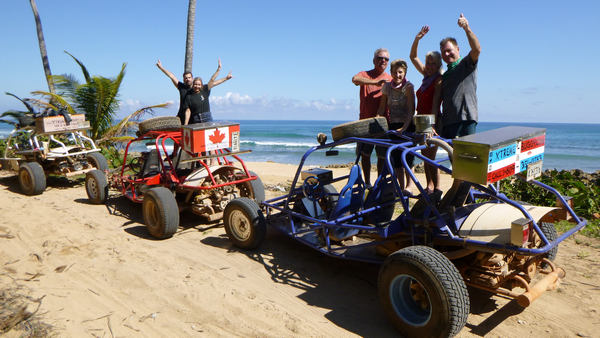 Check out beautiful picturesque places on overwhelming Xtreme-Buggy tours